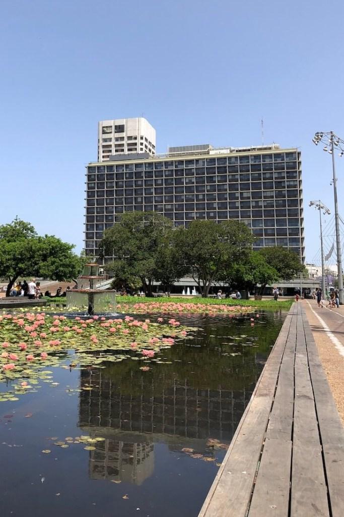 Brutalismus in Tel Aviv
