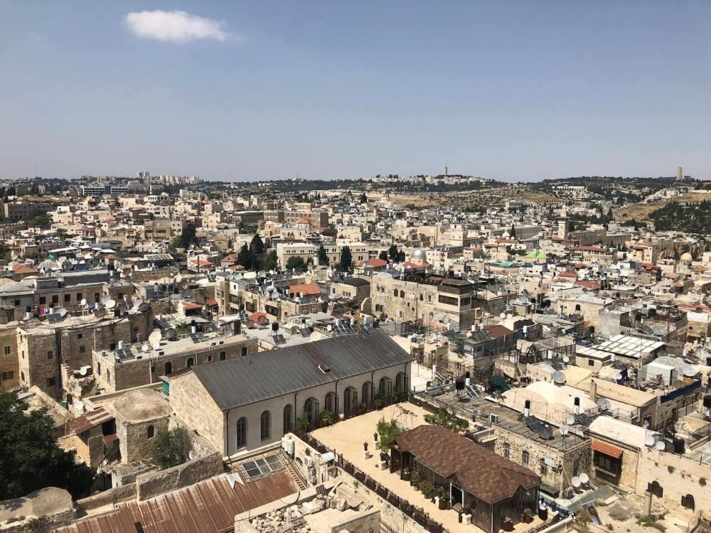 Blick über Jerusalem