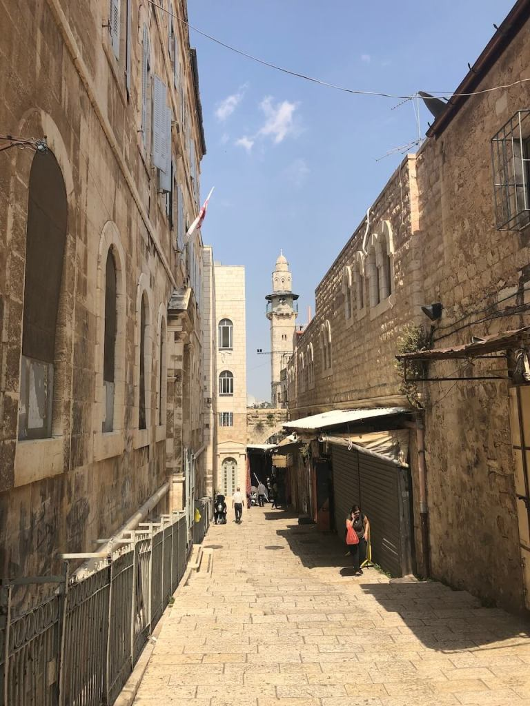 Minarett in Jerusalem