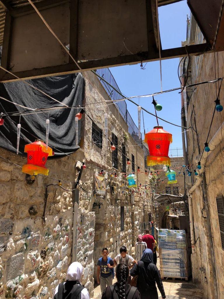 Im muslimischen Viertel in Jerusalem