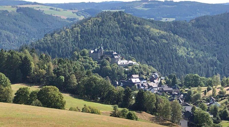 Blick in den Frankenwald
