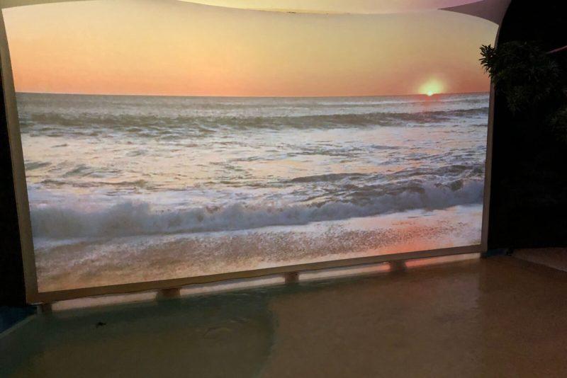 Fast wie am Strand
