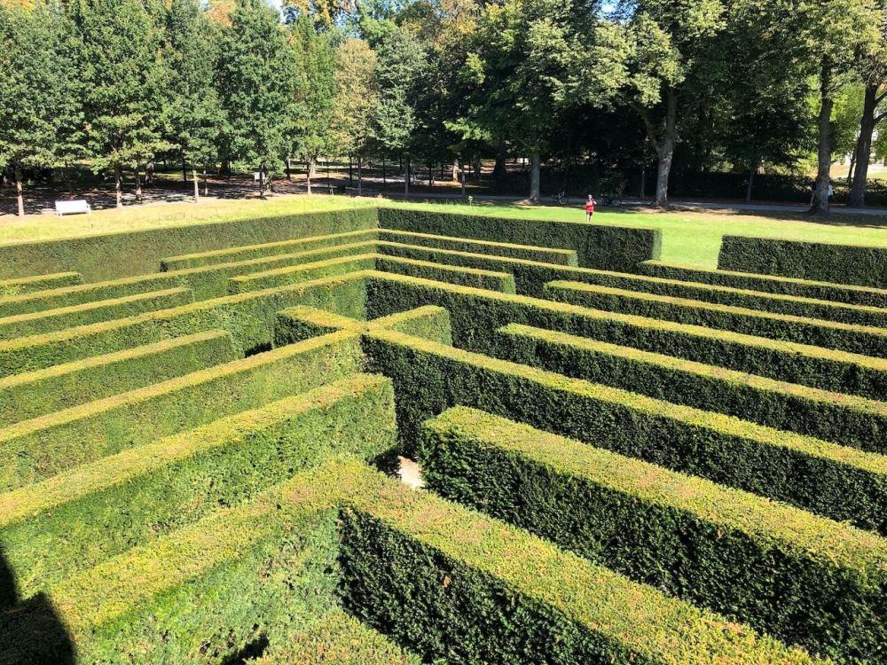 Irrgarten im Gräflichen Park in Bad Driburg