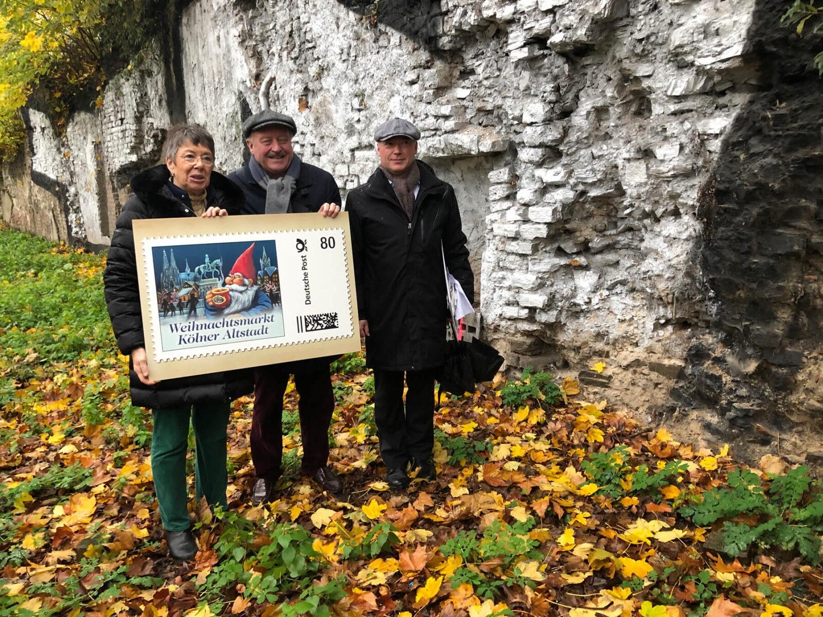 Mit der Heinzel-Briefmarke die Römermauer retten