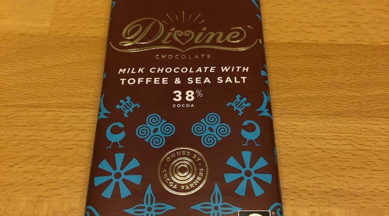 Divine Milk Chocolate with Toffee & Sea Salt