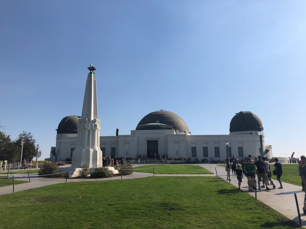 Griffith-Observatorium in Los Angeles