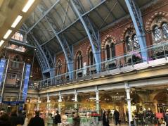 London St. Pancras Bahnhofshalle