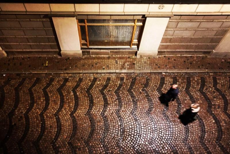 Die Altstadt von Malmö ist kurz vor Weihnachten ziemlich leer