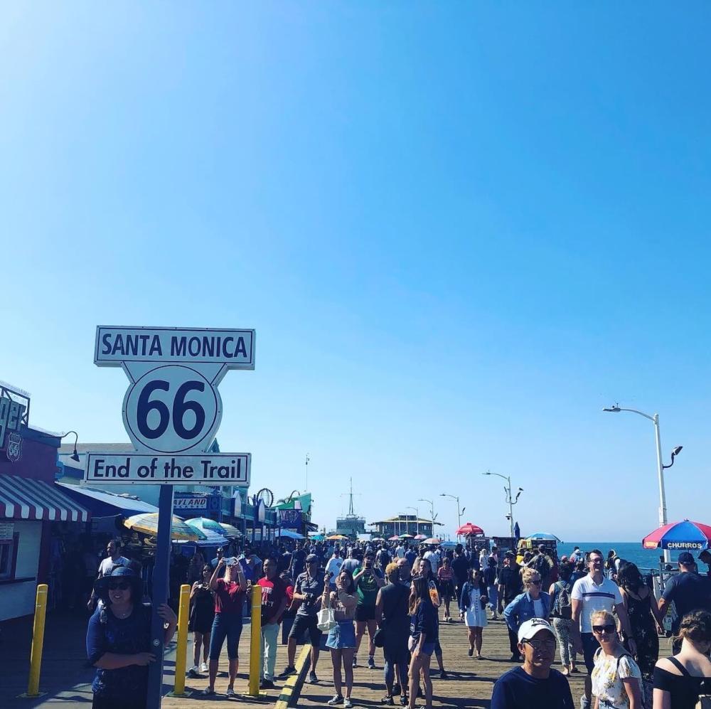 Los Angeles Strände Santa Monica Pier