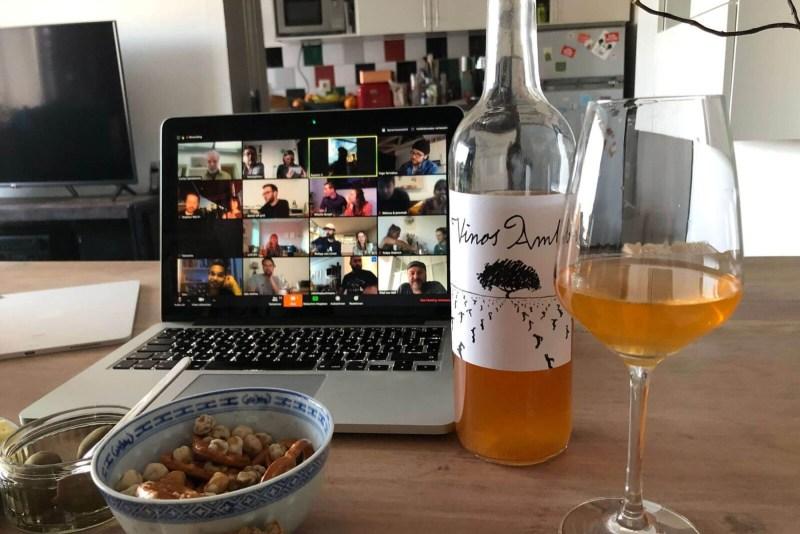 Virtuelles Weintasting in Zeiten von Corona