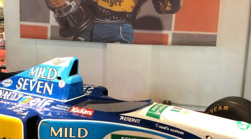 Erinnerung an Michael Schumacher im Deutschen Sport- und Olympiamuseum in Köln