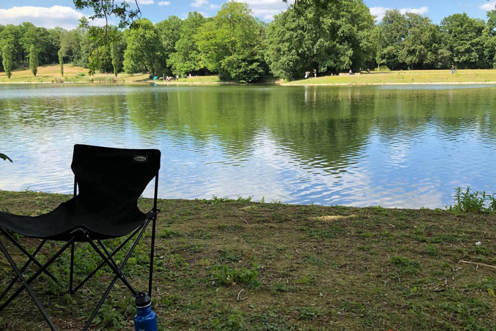 Köln: Picknick am Kalscheurer Weiher | Op jück