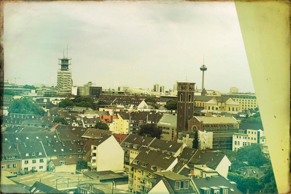 Köln von oben: Bester Blick auf Dom und Rhein