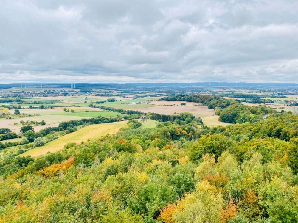 Blick über das Kulturland Kreis Höxter