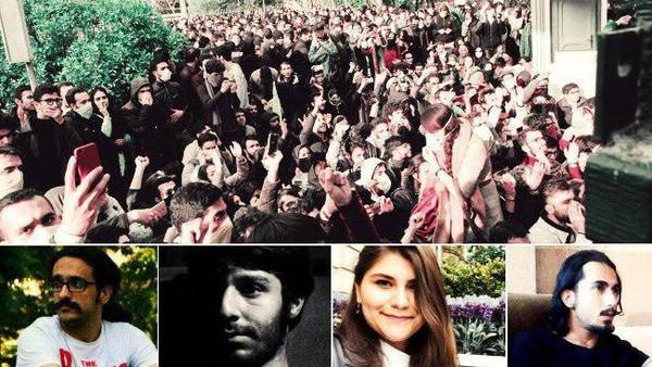 بيان رقم (1) قيادة المظاهرات في إيران تعلن تضامنها مع الشعب السوري