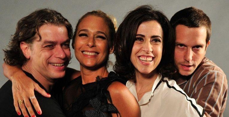 O elenco de Tapas & Beijos. Foto: Divulgação