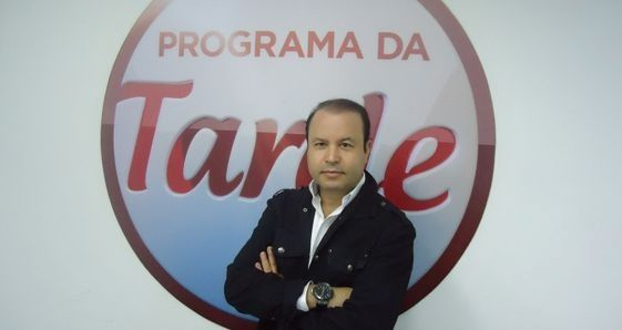 Vildomar no lançamento do Programa da Tarde. Foto: Divulgação/Rede Record