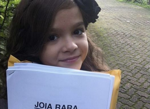 Mel Maia, uma das estrelas de Joia Rara. Foto: DIvulgação
