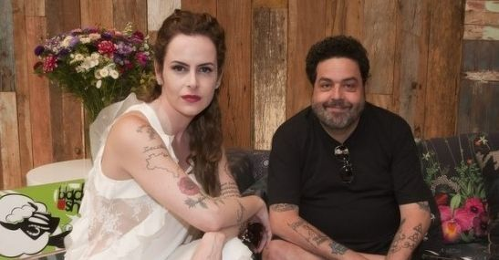 Fernanda Young e Alexandre Machado, os autores de O Dentista Mascarado. Foto: Divulgação