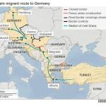 new route for refugees