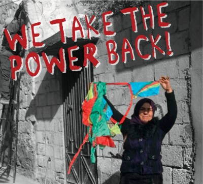 We take the power back