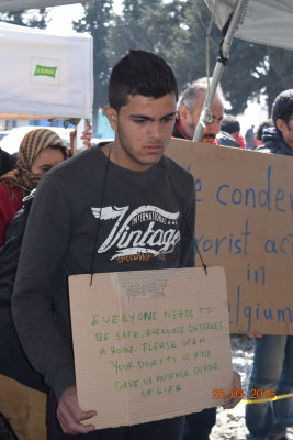 Message from Idomeni