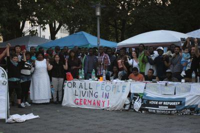 Refugee Protest March München Nürnberg 2016