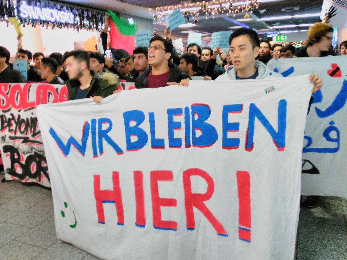 Afghan Refugees Protest