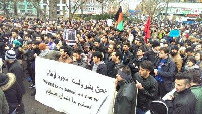 Demonstration in Berlin Keine Abschiebung nach Afghanistan