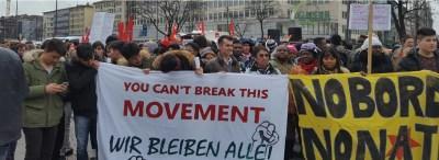 Anti-Sicherheitskonferenz-Demo