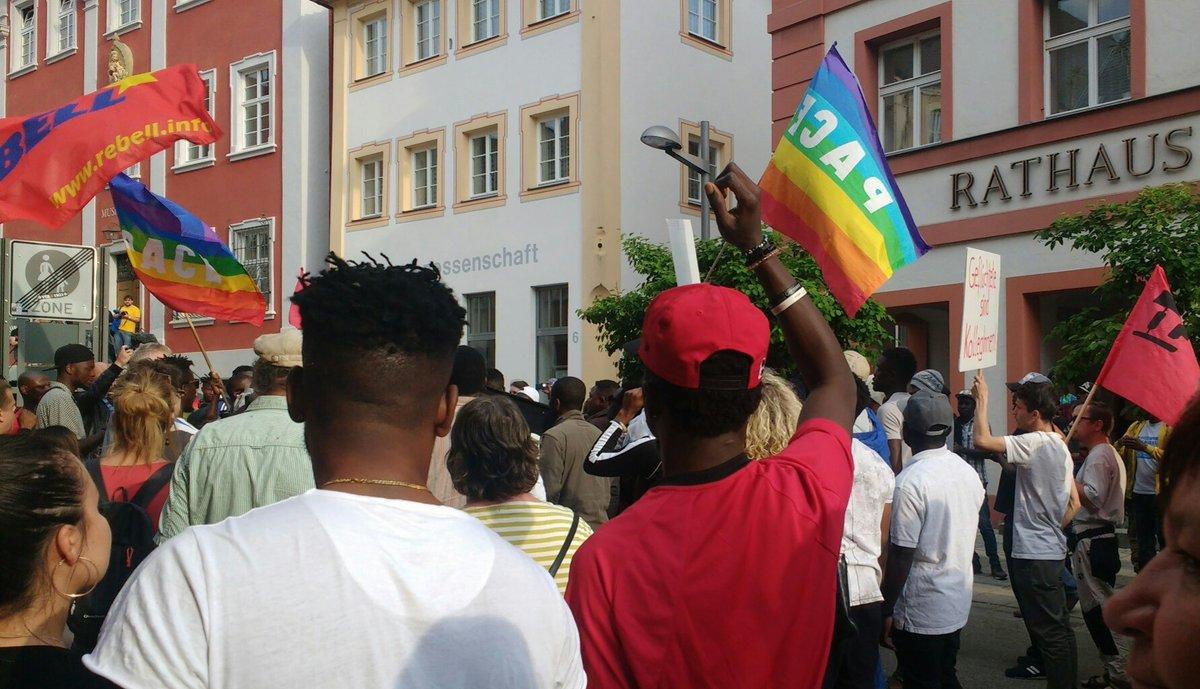 Ellwangen Refugees not criminals!