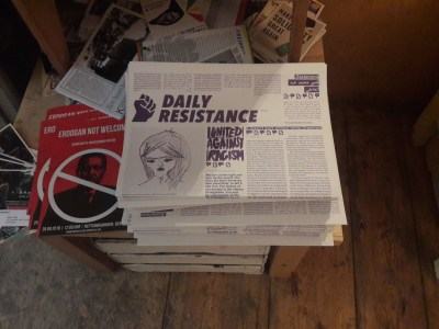 Daily Resistance Monthly Editorial Meeting Continues On July 9