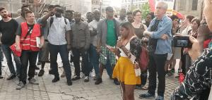 Ellwangen Protest