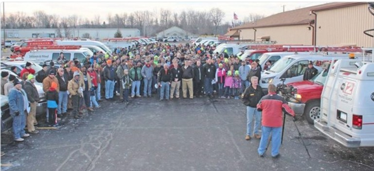 Three hundred plumbers from around the country came to Flint, Michigan to install free water filters for the community.