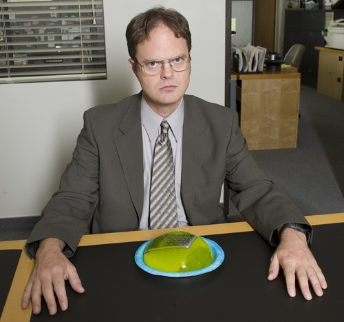 Set your co-worker's stapler or calculator in Jello.