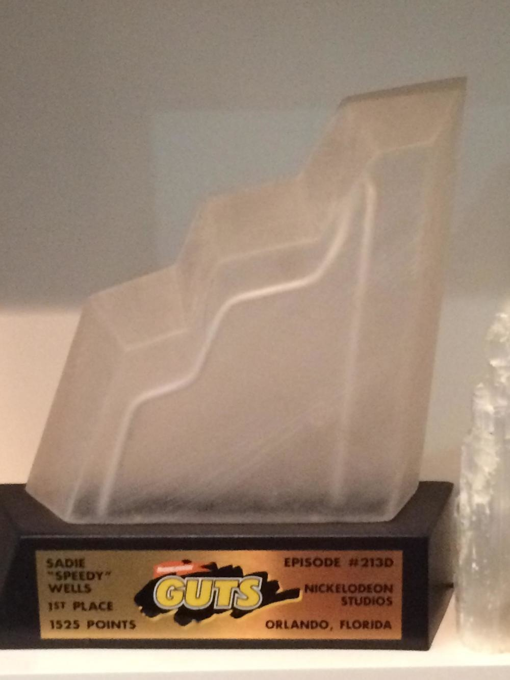 The type of award that you would want to see at your dentist's office.
