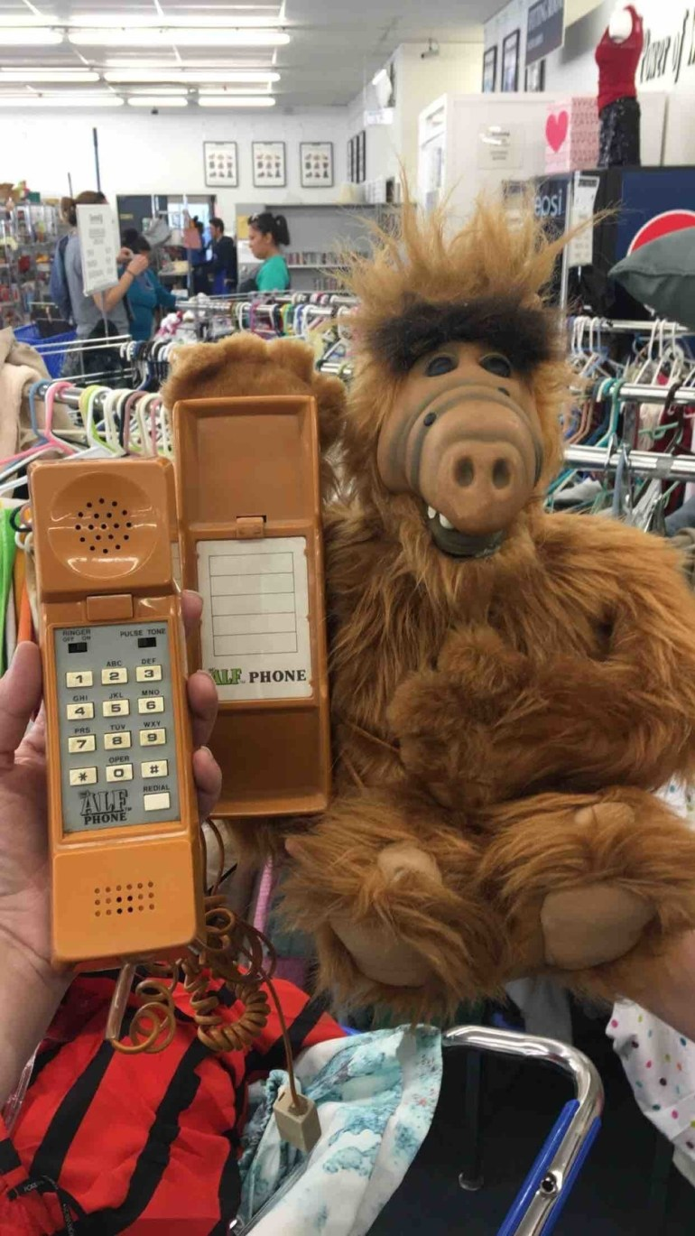 This Alf phone is a pretty important find.