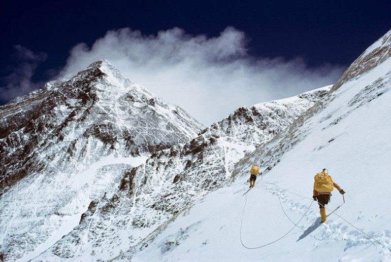 Climbing Mount Everest, Nepal