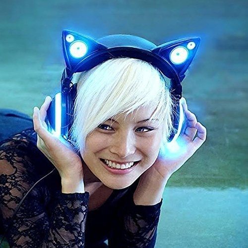These cat ear headphones will make everyone jealous.