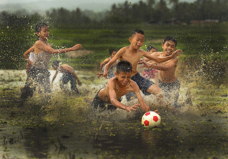 """""""Muddy Football"""""""