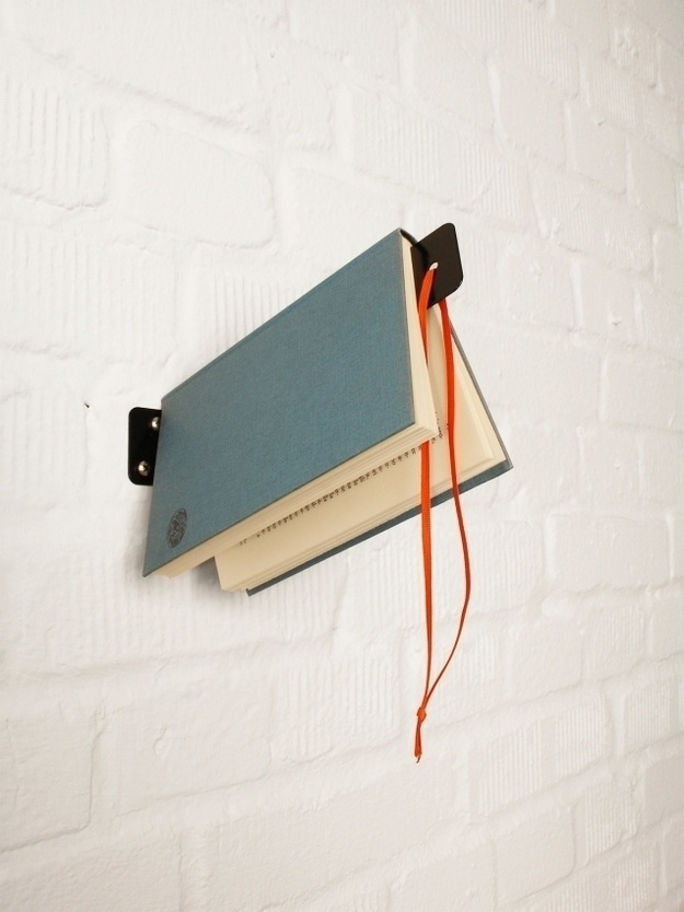 Create a bookshelf that can also act as your bookmark.