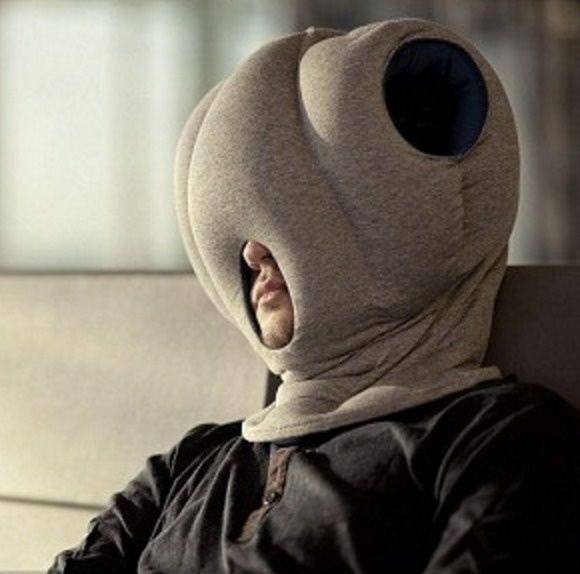 This ostrich-like pillow will help you catch a few zzz's in the office.