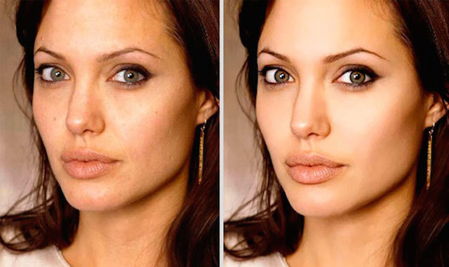 Angelina Jolie is stunning.