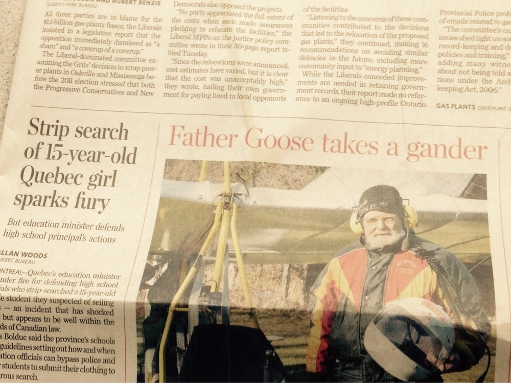 Shame on you, Father Goose!