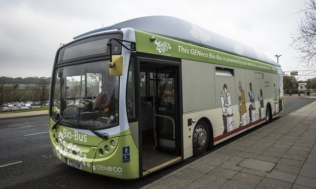 The A4 busses from Bristol to Bath in the UK actually run on compost gasses created by human waste and food.