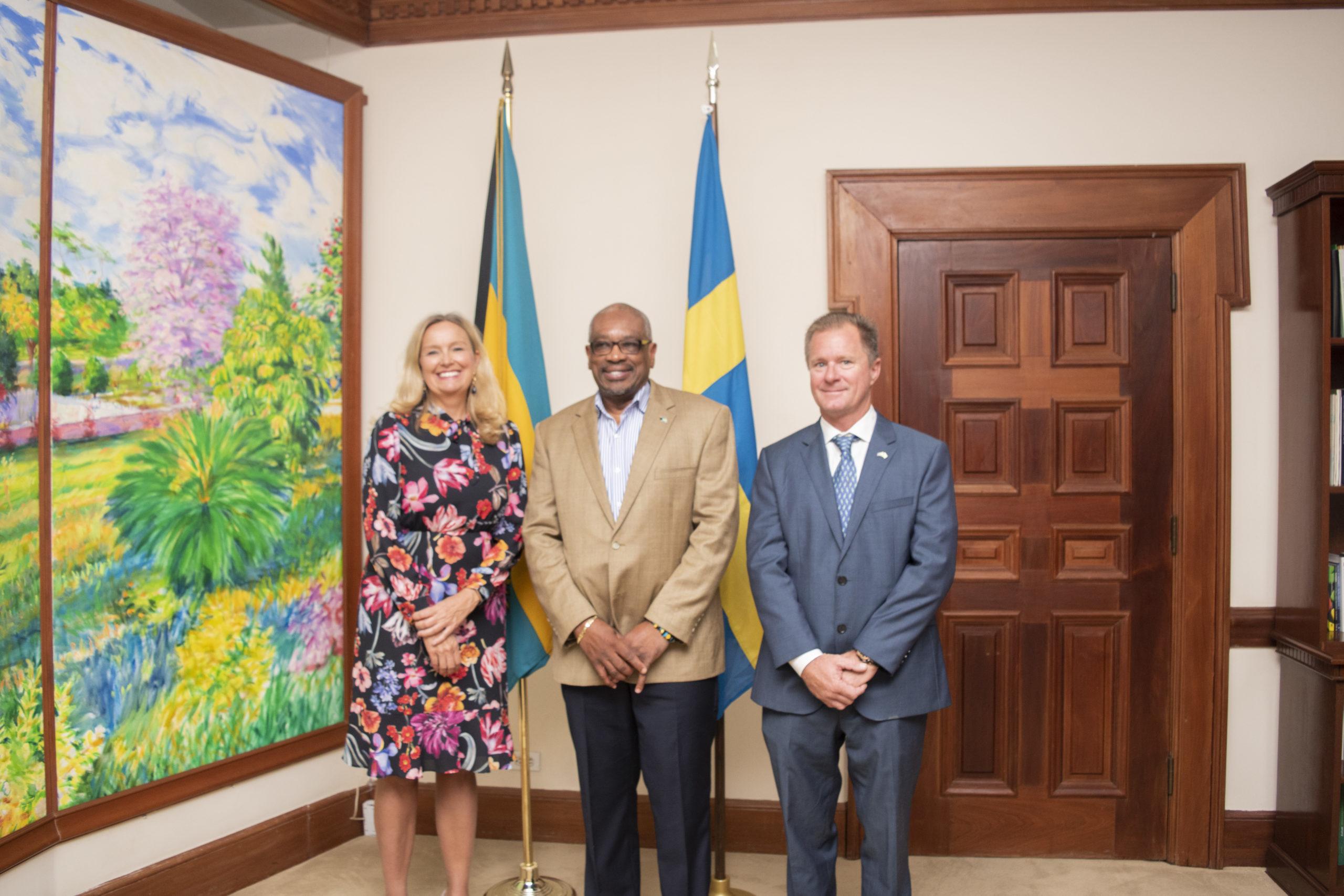 Swedish Ambassador pays courtesy call on Prime Minister