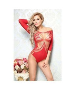 Body de Luxo Rendado - Bodystocking