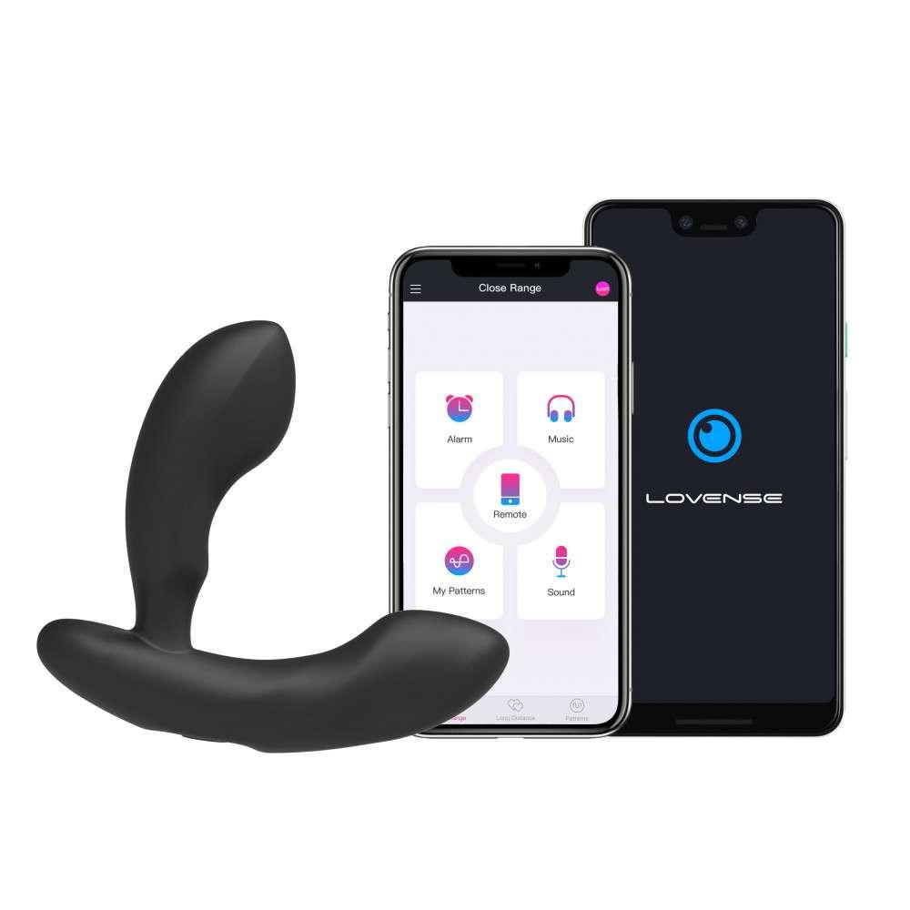 LOVENSE Edge – Estimulador de próstata controlado a distância do mundo via APP