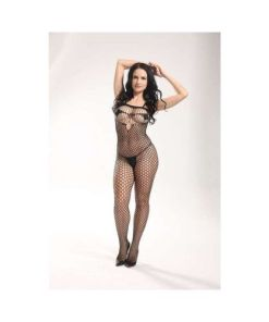 Macacão Rendado - Bodystocking - 3626