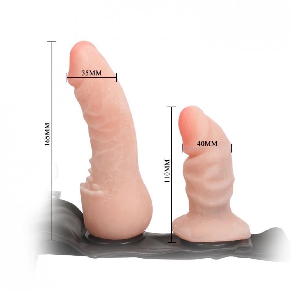 Cinta Peniana com Plug Vaginal - FEMALE HARNESS